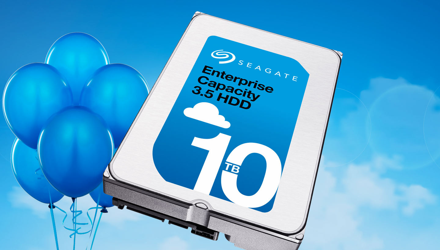Seagate Enterprise Capacity 3.5 Helium HDD
