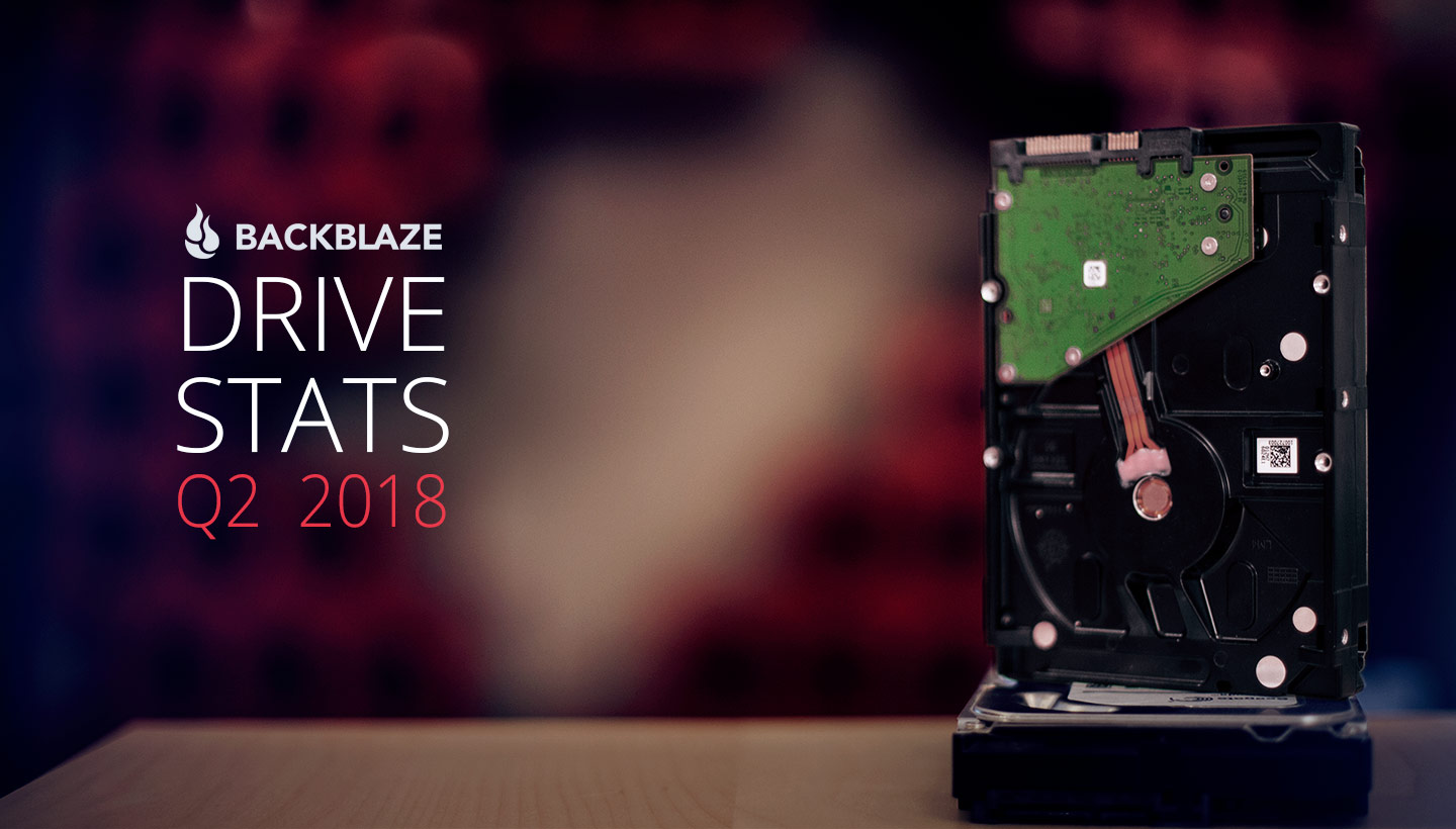 Backblaze Drive Stats Q2 2018