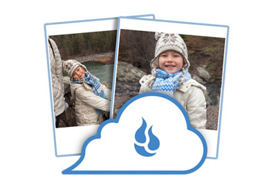 Saving photos to the cloud