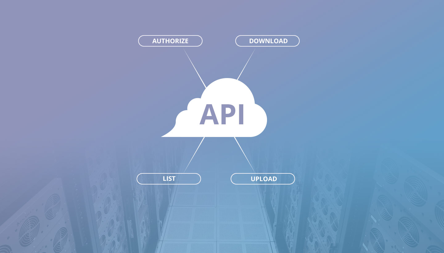 API Functions - Authorize, Download, List, Upload