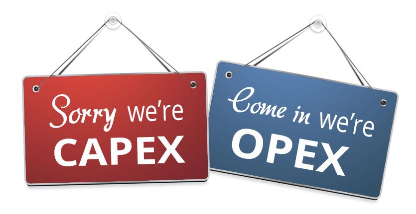 CAPEX vs. OPEX