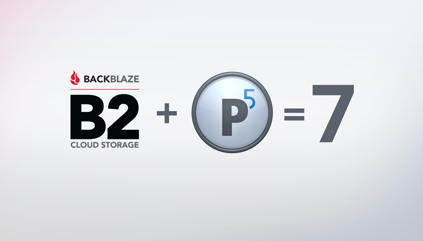Backblaze B2 Cloud Storage + Archiware P5= 7 Ways to Save