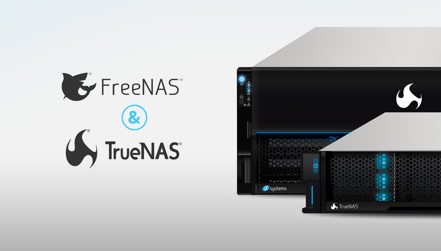 FreeNAS and TrueNAS