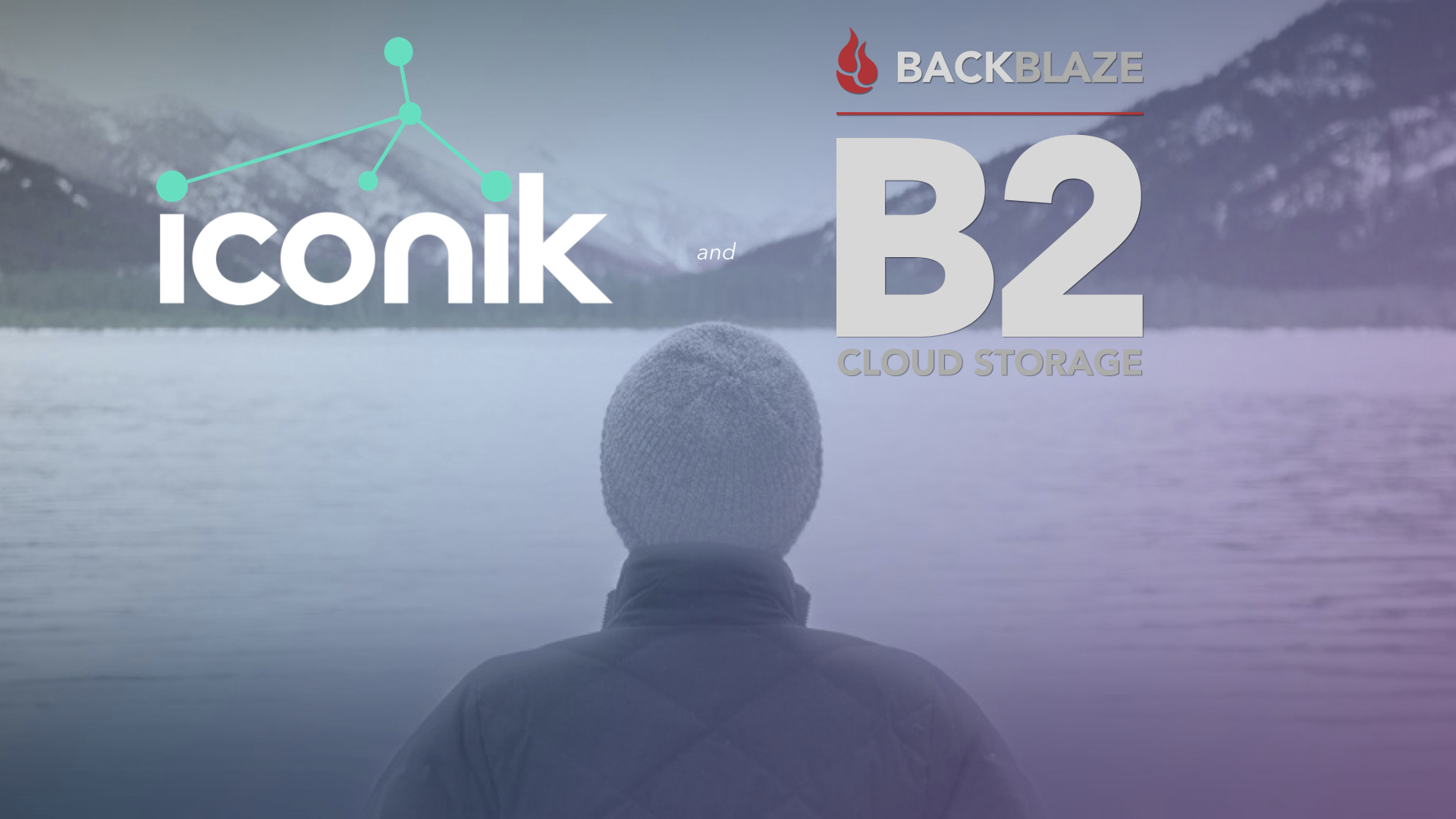 Cantemo iconik Plus Backblaze B2 for Media Cloud Production