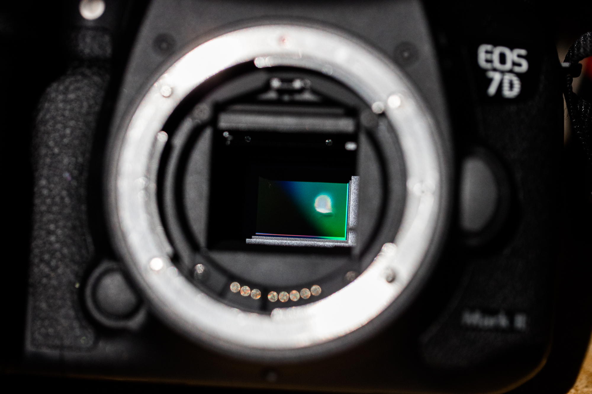Eclipse camera lens damage