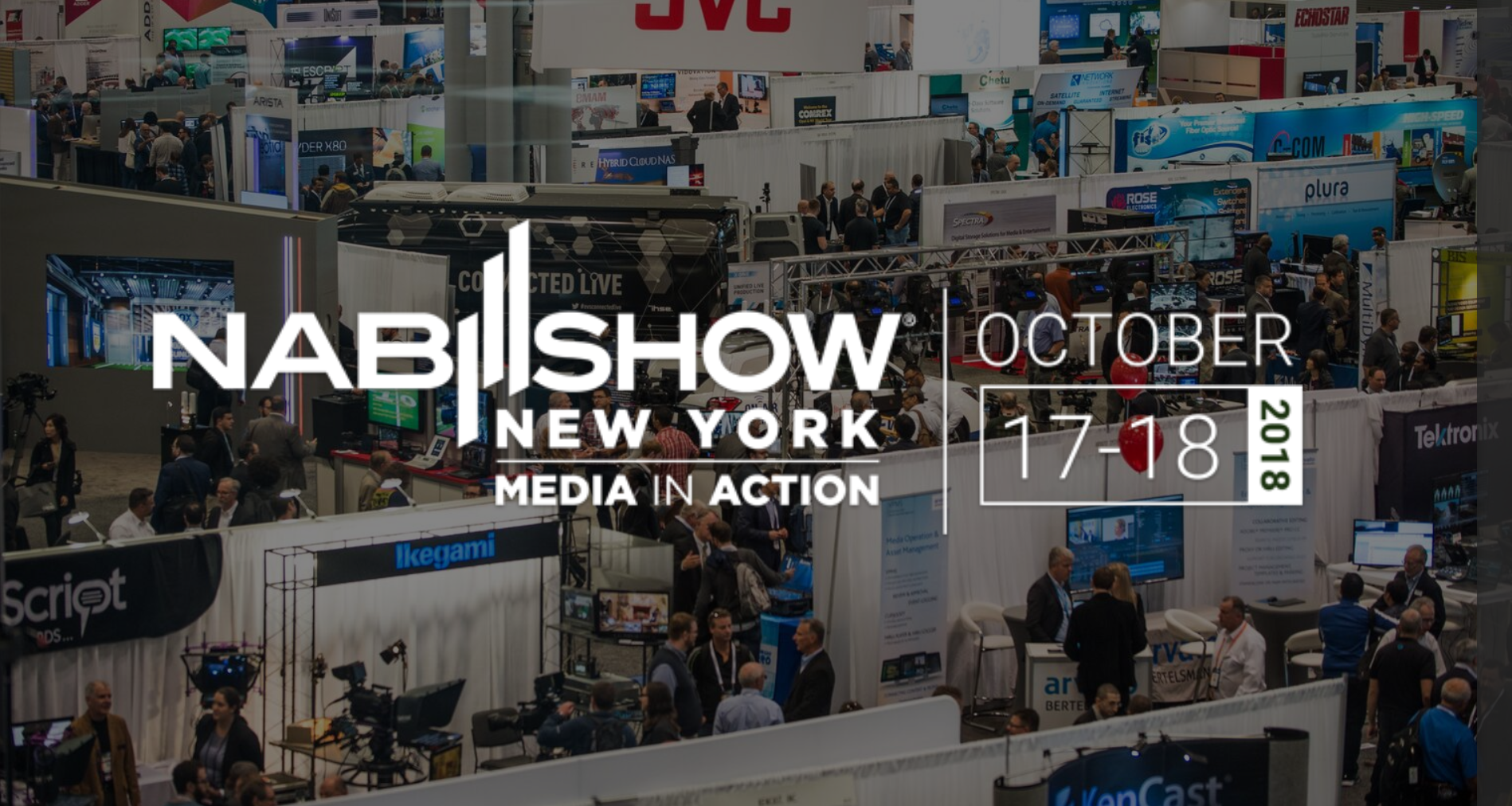 NAB Show New York - Media In Action October 17-18 2018