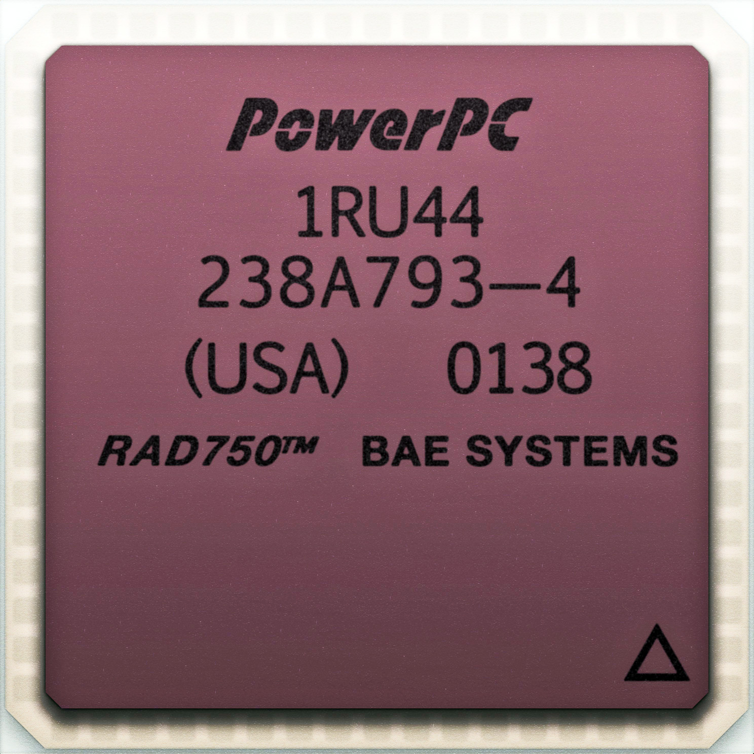 RAD750 radiation-hardened PowerPC space microprocessor