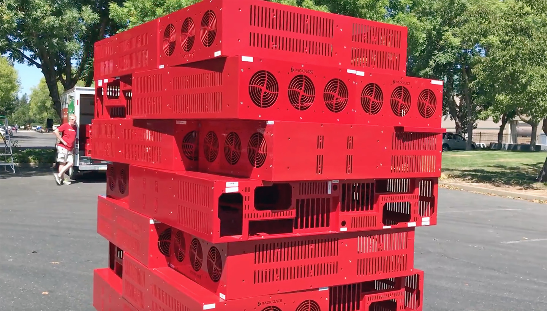Storage Pod dominoes