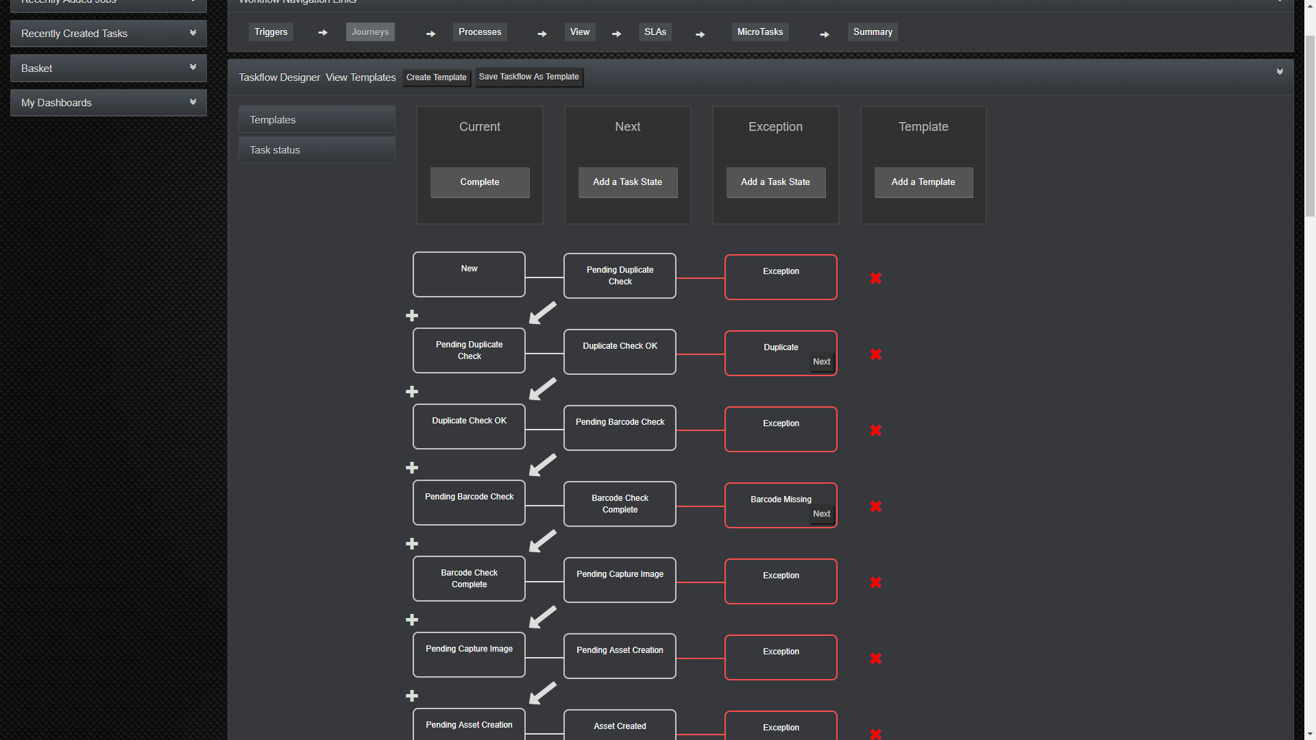 screenshot of Cubix workflow