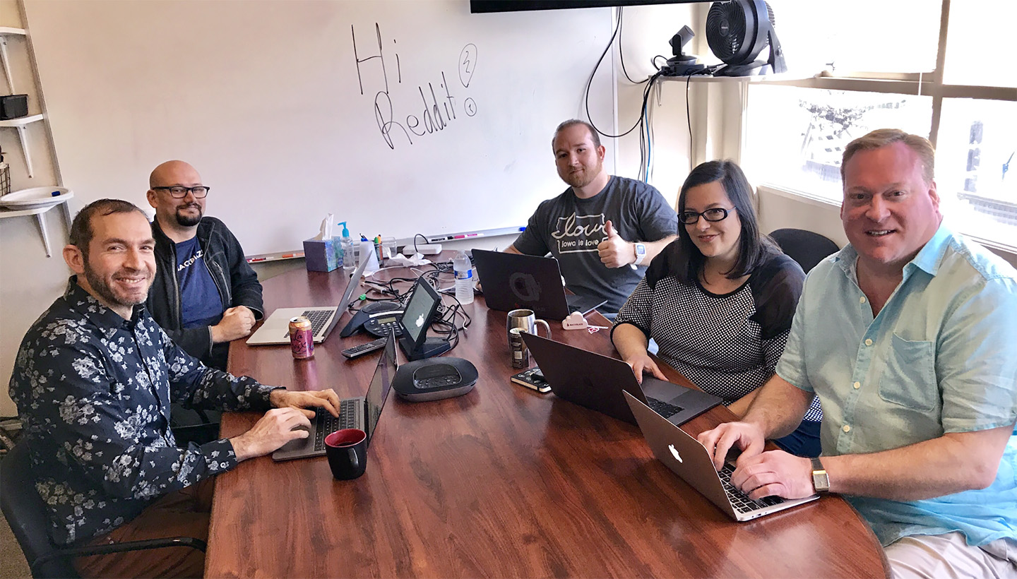 Backblaze team members answering IAmA questions on Reddit