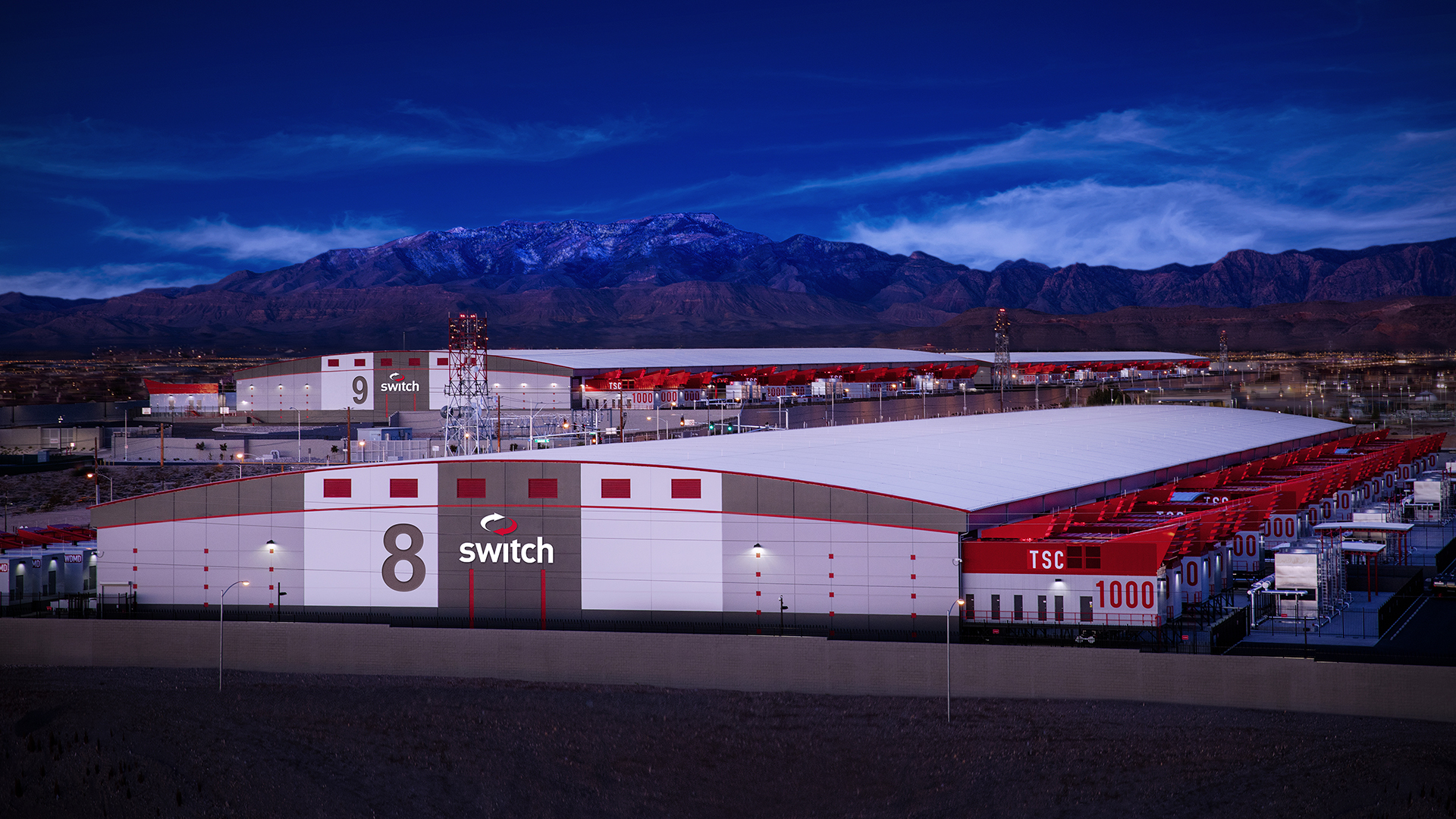 The Switch Core Campus in Nevada