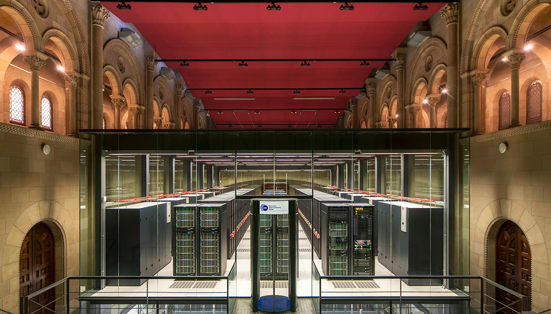MareNostrum supercomputer at Barcelona Supercomputing Center