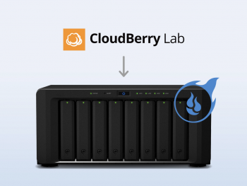 CloudBerry Lab logo and server