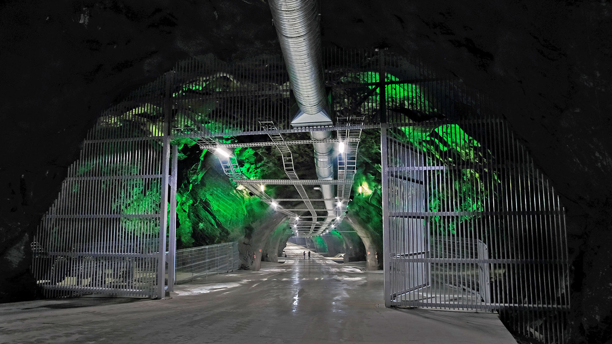 The Lefdal Mine Data Center in Norway