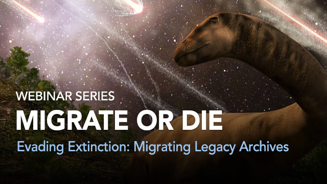 Migrate or Die: Evading Extinction -- Migrating Legacy Archives