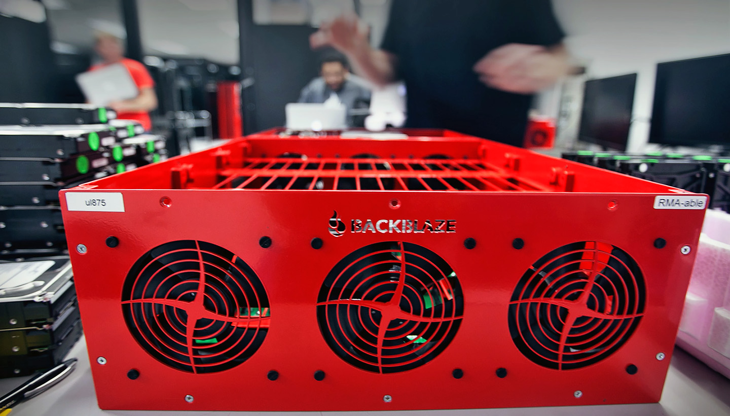 Backblaze Storage Pod