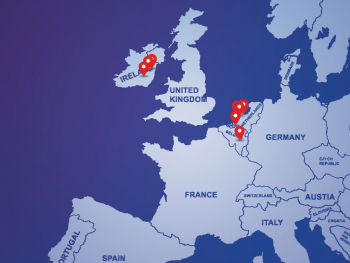 EU data center search map