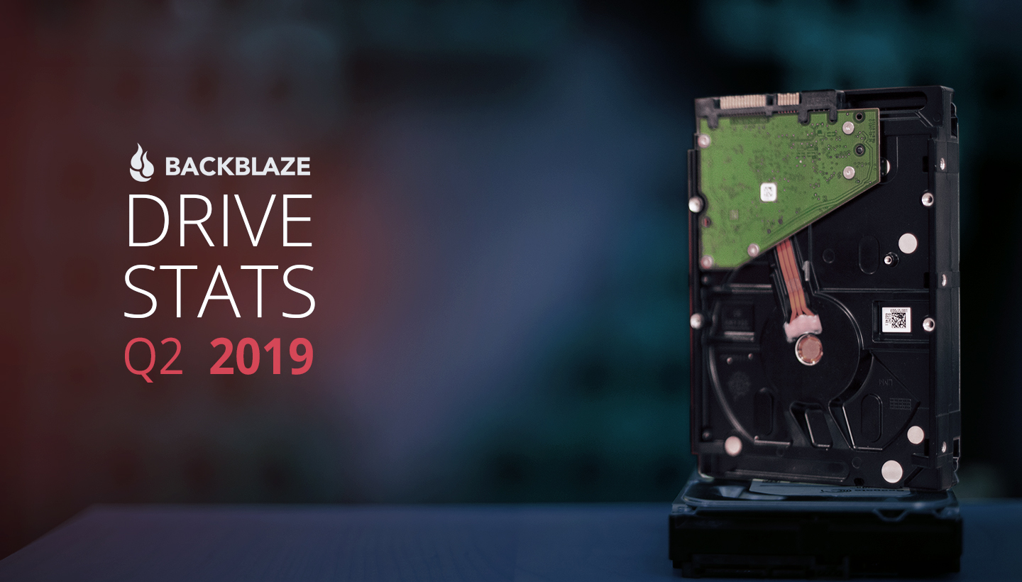 Backblaze Drive Stats Q2 2019