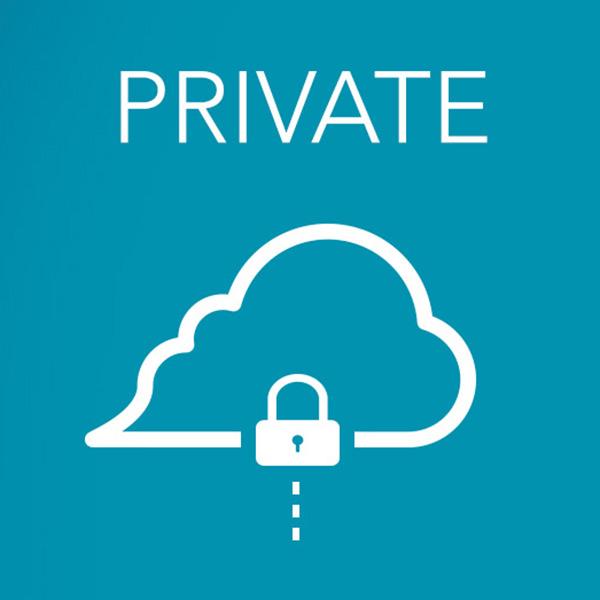 Private + cloud icon