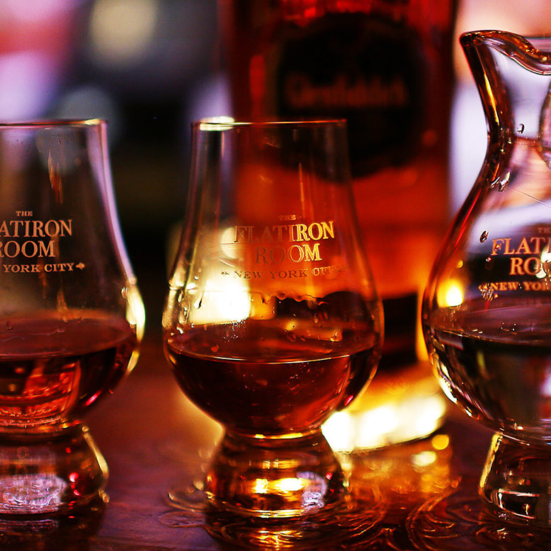 Flat Iron Room Whiskey Flights