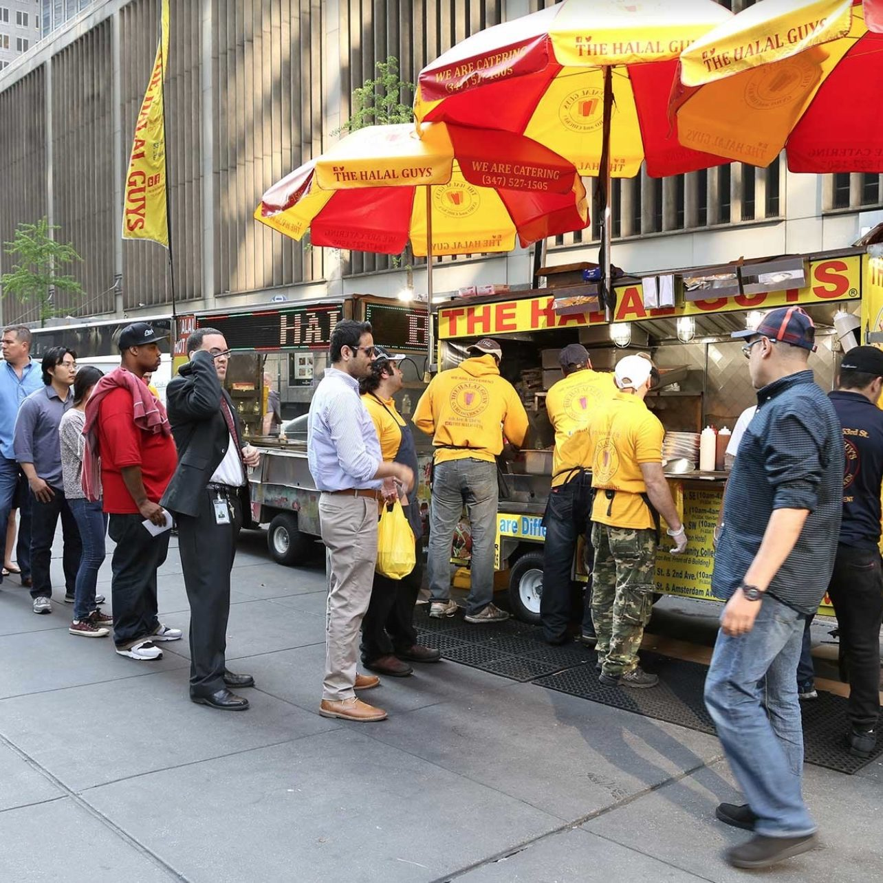 Halal Guys Food Trucks