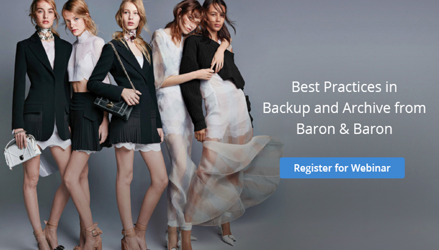 Best Practices in Backup and Archive from Baron & Baron creative agency