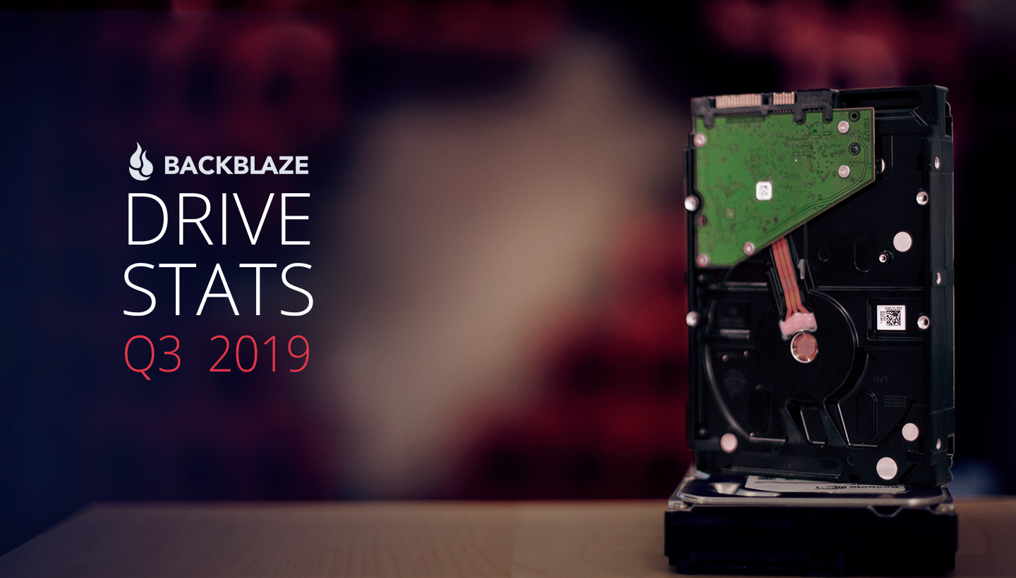 Backblaze Drive Stats Q3 2019