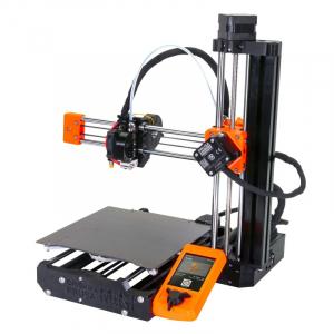 A Prusa Mini 3D printer