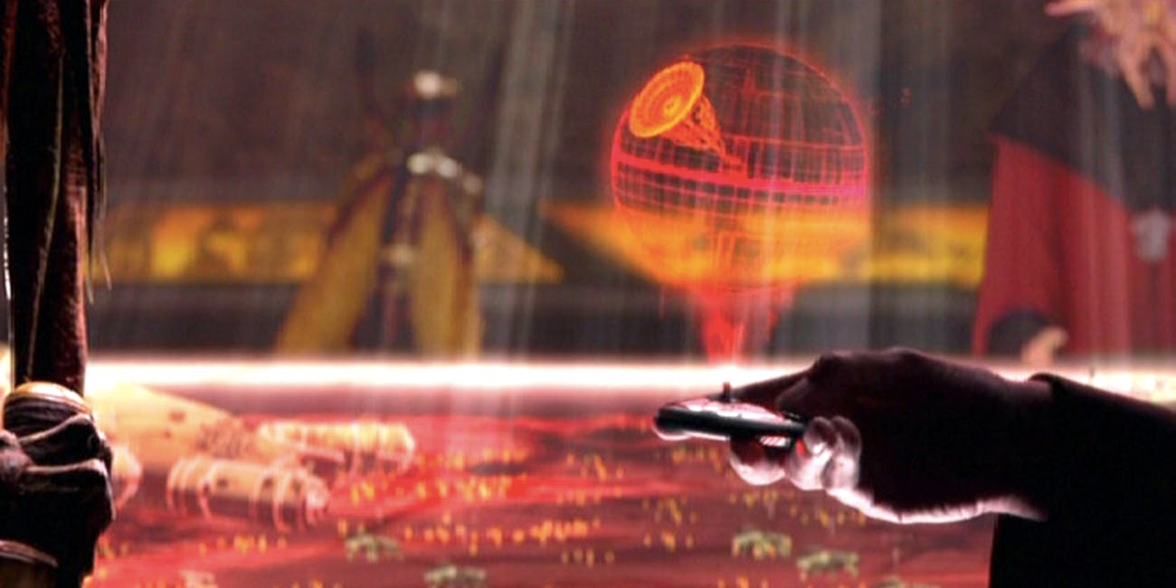 Dooku's Death Star Plans