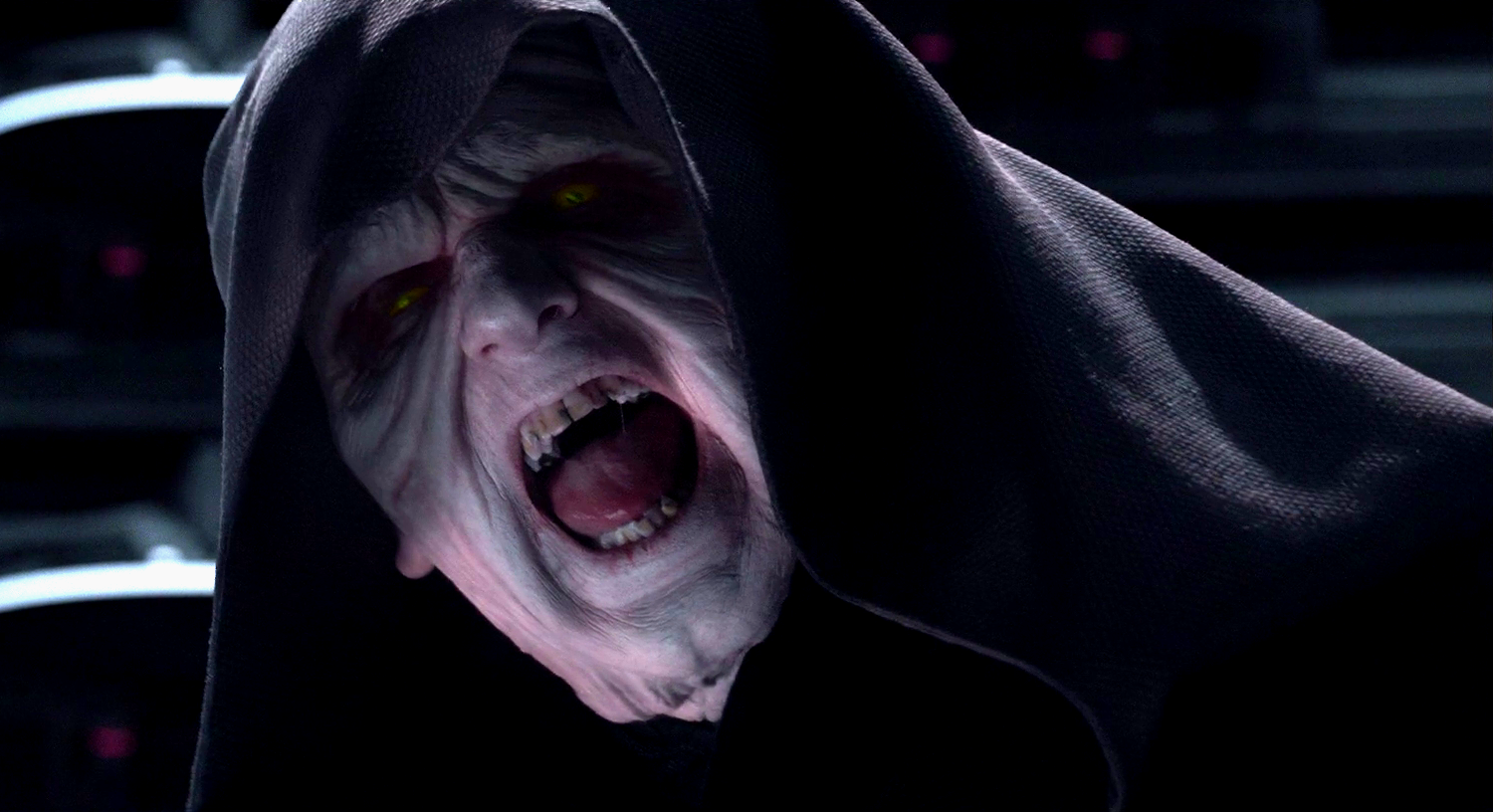 Frustrated Darth Sidious