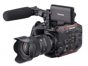 Panasonic EVA1 5.7K Compact Cinema Camcorder 4K 10b 4:2:2 with EF lens-mount