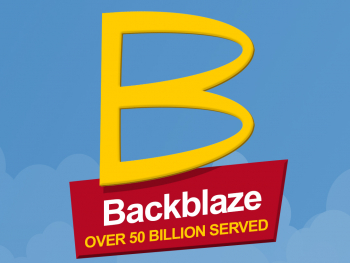 Backblaze Over 50 Billion Served