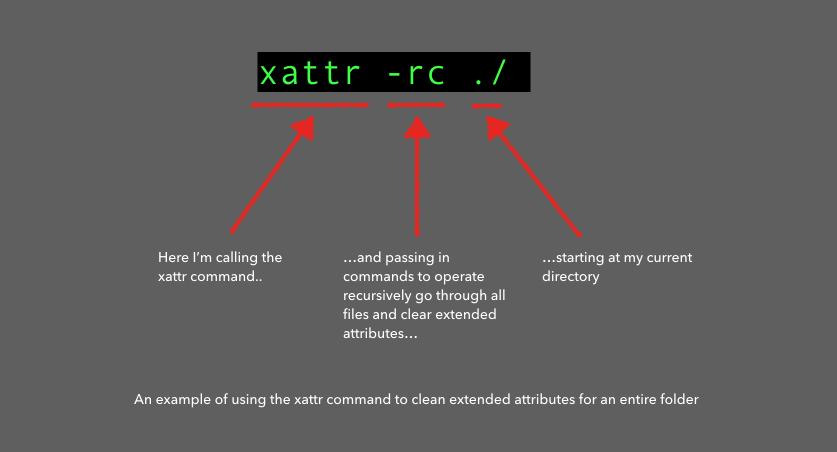xattr Code Snippet
