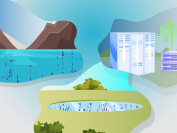Illustration of Data Warehouses, Data Lakes, and Data Swamps
