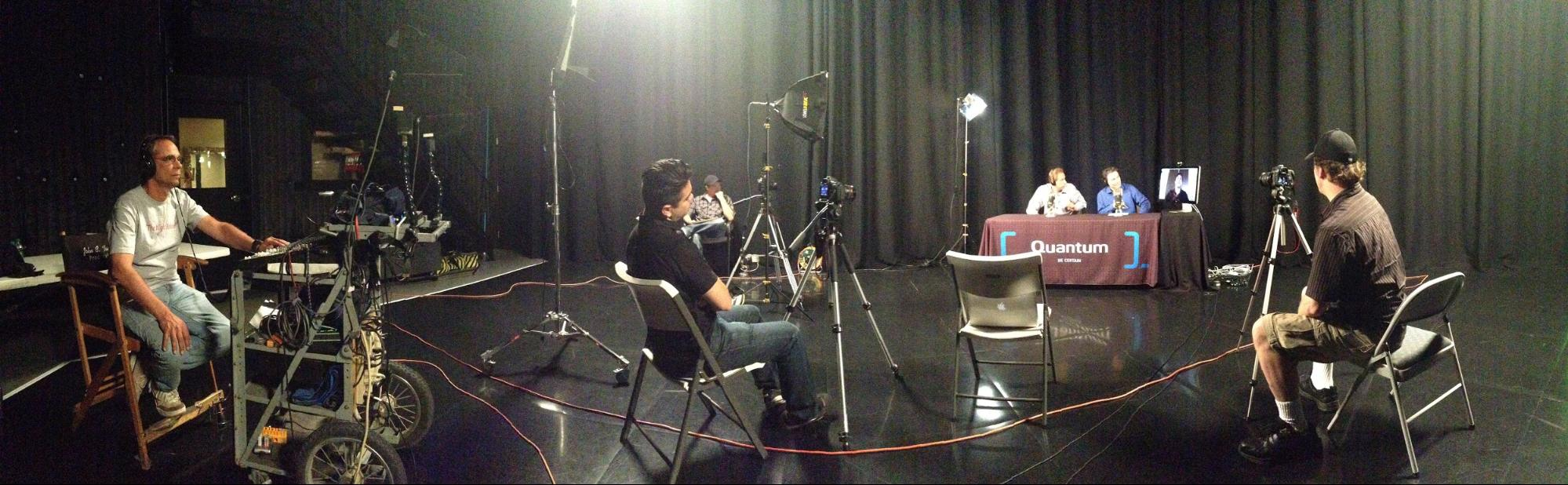 Industrious Films Shooting a Video for Quantum