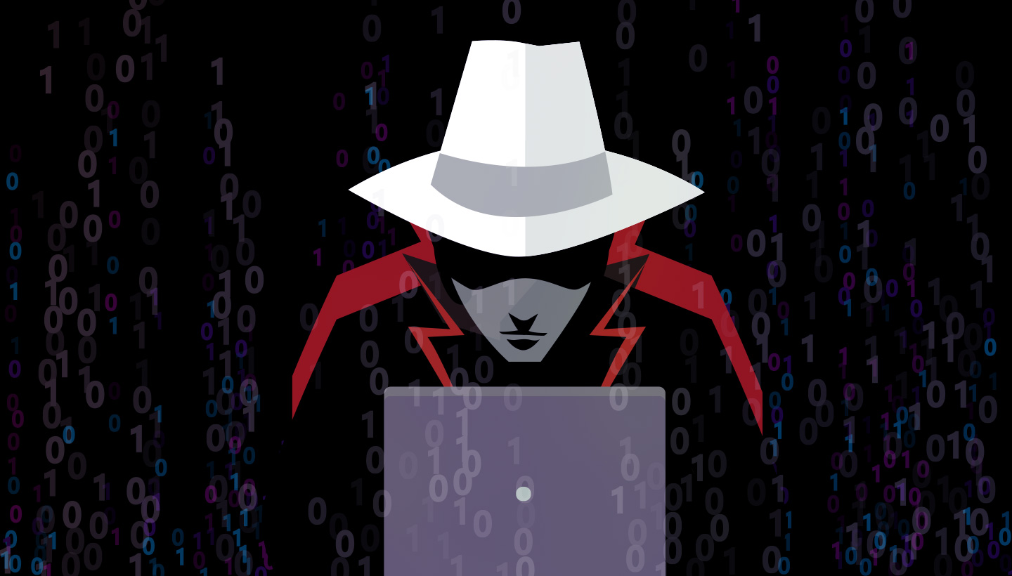 A white hat hacker.