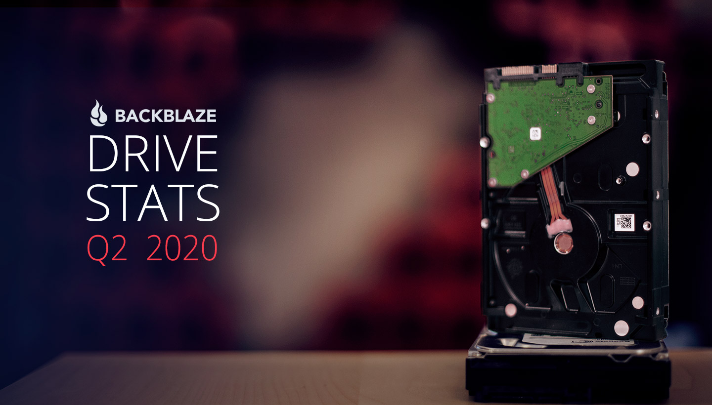 Backblaze Drive Stats Q2 2020