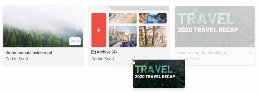 Travel Recap video image collage