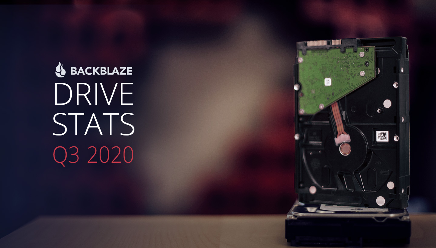 Backblaze Drive Stats Q3 2020