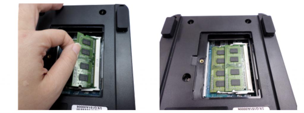 installing NAS memory cards