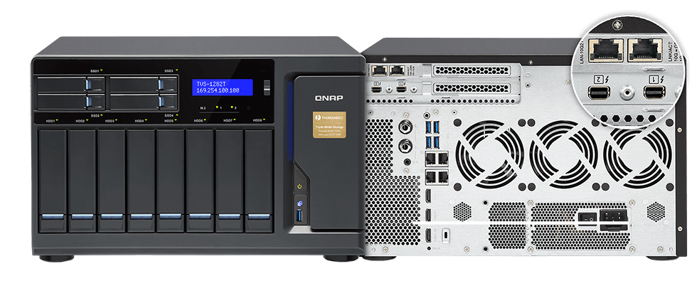 Multi-ports on a QNAP NAS