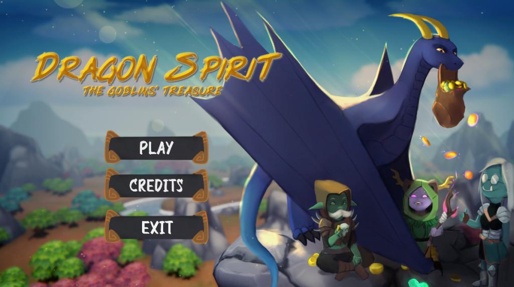Dragon Spirit - The Goblins' Treasure screenshot