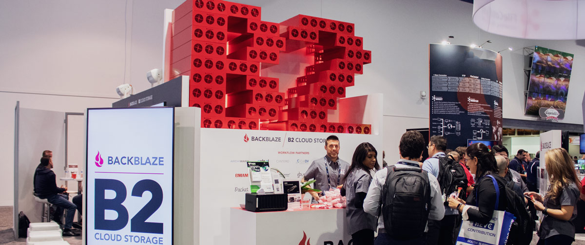 Backblaze Booth