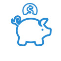 Backblaze Piggy Bank Icon