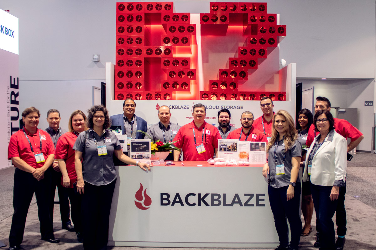 Backblaze NAB Event