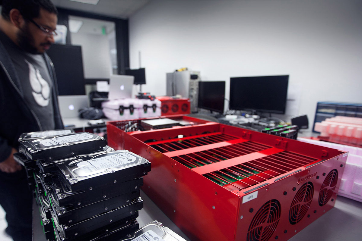 Backblaze Datacenter Pod