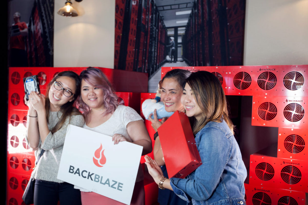 Backblaze 10 Year Party