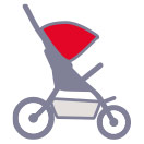 Backblaze Stroller Icon
