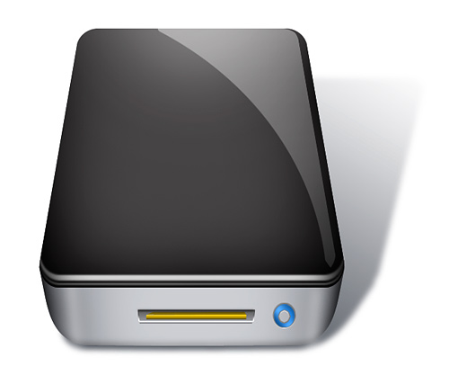 USB Hard Drive Icon for Backup
